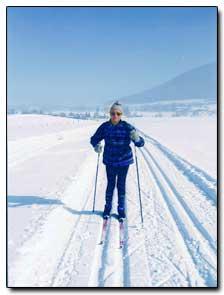 Ferienwohnung Bernrieder, Winter Langlaufen