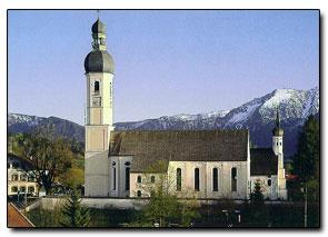 Ferienwohnungen Bernrieder, Kirche